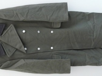 Overjas, Mantel, Officier, NVA Artillerie, Maat: 44G, 1983.