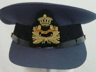 Pet, Uniform DT, Officier, KLu, maat: 61, jaren'90.