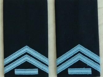 Rang Onderscheiding, Blouse DT, Kpl.1, KLu, jaren'80.(1)