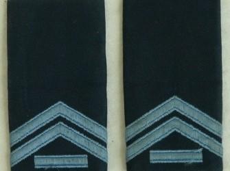 Rang Onderscheiding, Blouse DT, Kpl.1, KLu, jaren'80.(2)