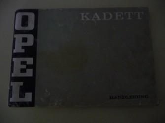 Handleiding Opel Kadett.  Februari 1973