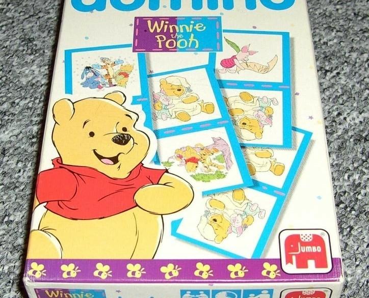 Dominospel Winnie the Poeh - Jumbo
